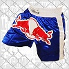 FIGHTERS - Muay Thai Shorts / Red Bull / Blau / Large